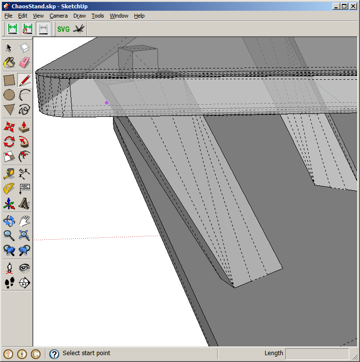 Parametric Modelling in Google Sketchup and Ponoko friendly SVG