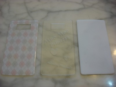OEM Cover, Clear Detail Cover, White Strong & Flexible Cover