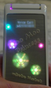 Phone ringing again with different LEDs