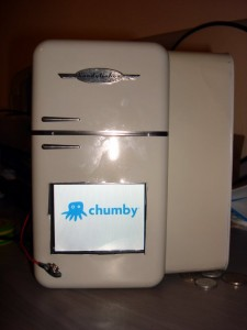Chumby in a fridge!