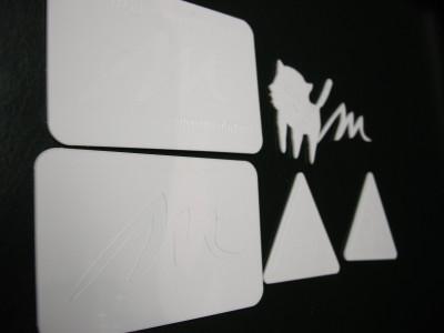 Styrene White 1.0 mm