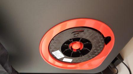 Undersized filament spool