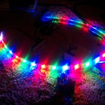 Initial test of the LED strip