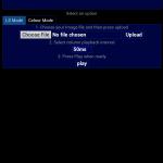 Sample GUI in 'LoightSycthe' Mode